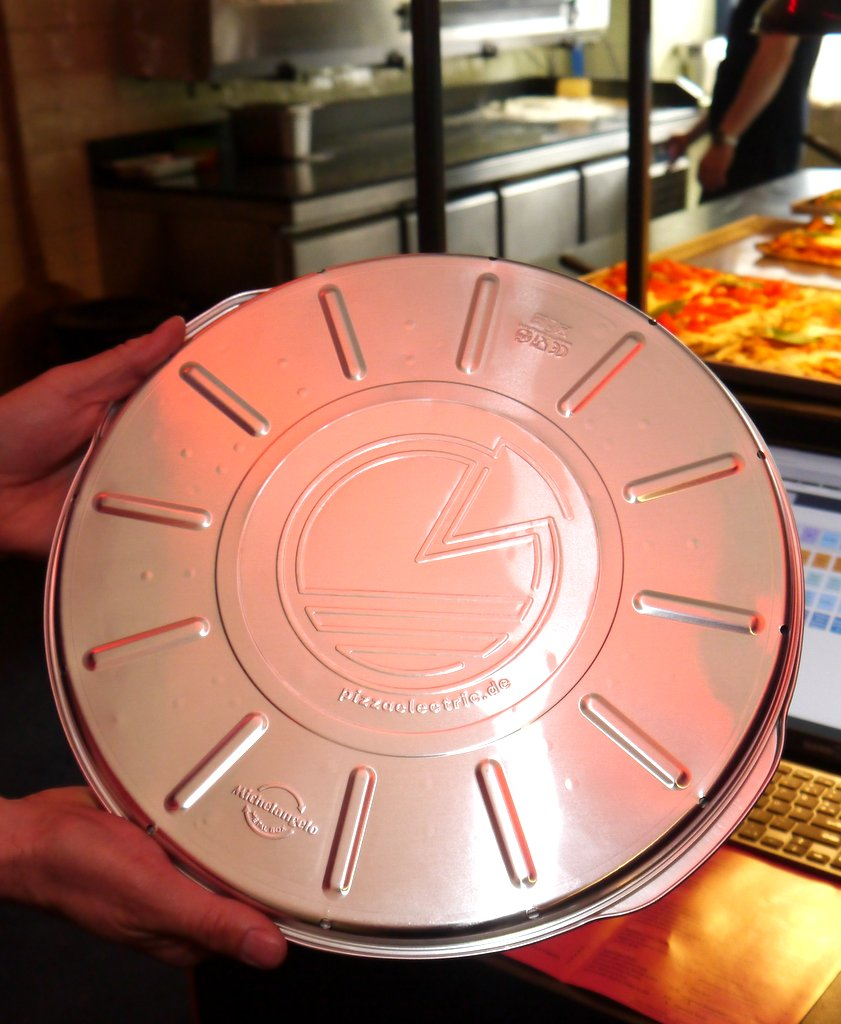 Pizza Verpackung aus Aluminium