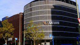 Das Saturn Parkhaus in Hamburg