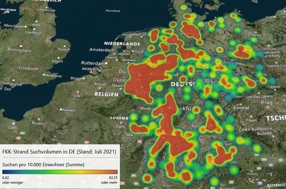 Die Deutsche FKK-Landkarte
