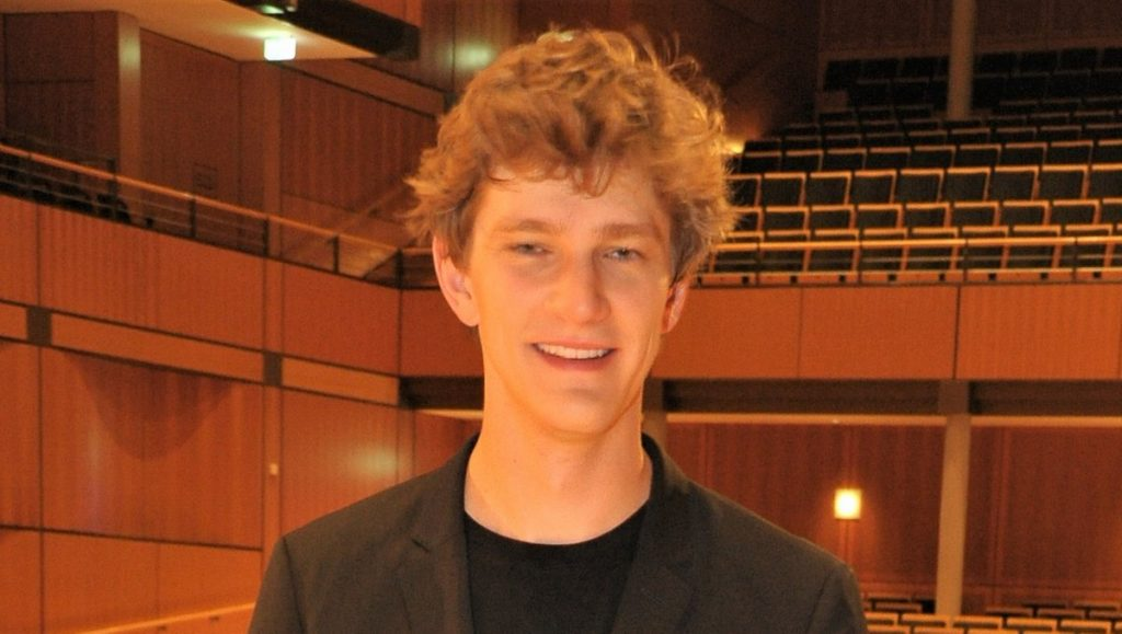 Der Pianist Jan Lisiecki