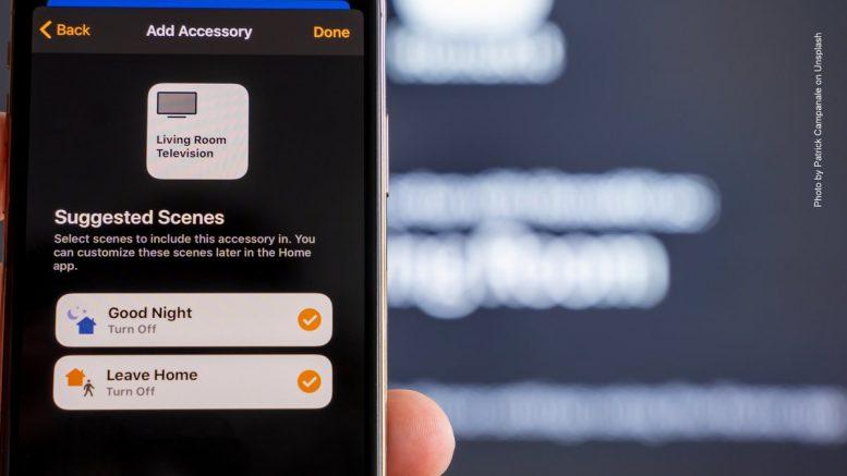 Mit einem Smartphone den Haushalst steuern