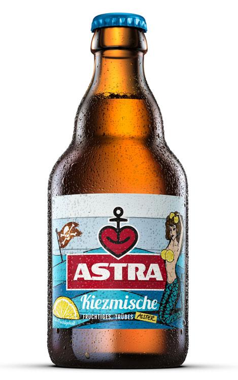 Steiniflasche Astra Kiezmische