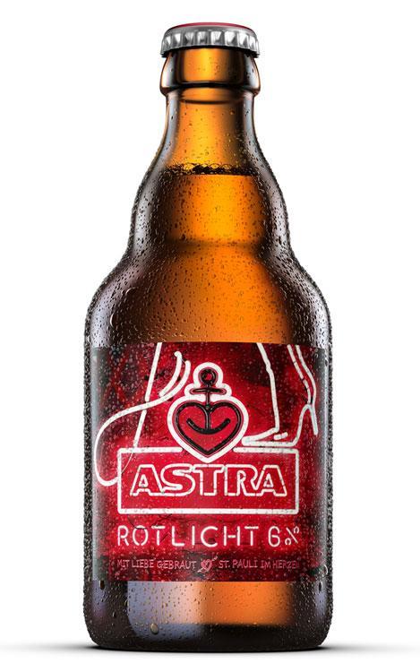 Steiniflasche Astra Rotlicht