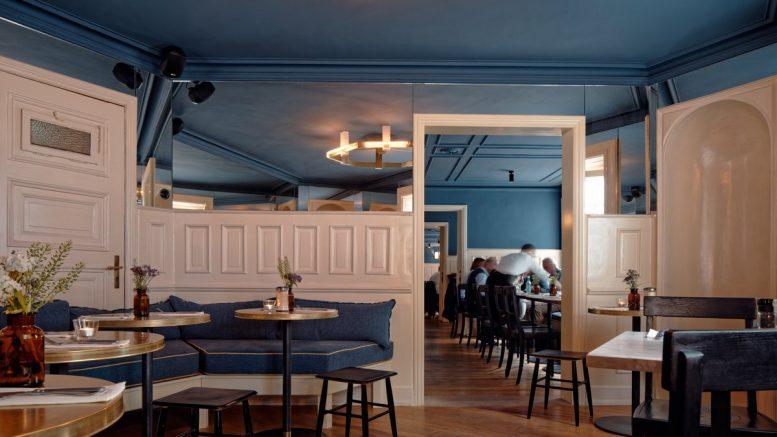 Cölln's Restaurant Gastraum in Hamburg
