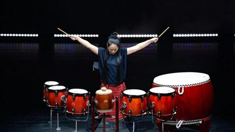 Die Musikerin Lin Chen