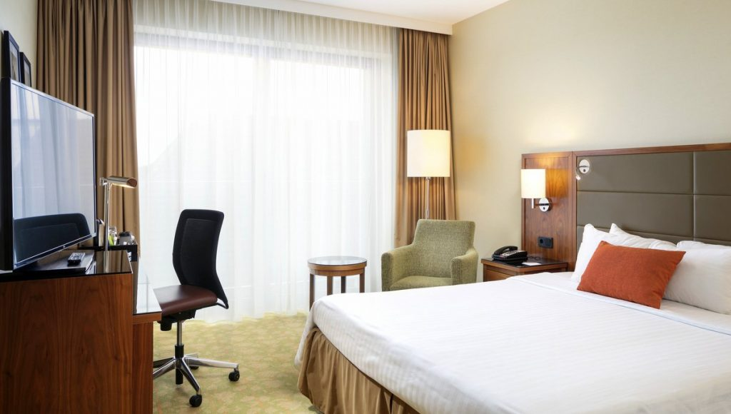 Hotelzimmer des Courtyard by Marriott Bremen