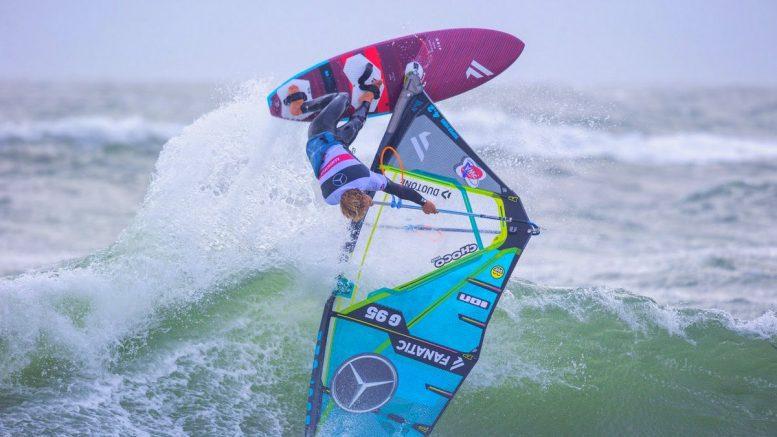 Spektakulärer Surfszene vor Sylt