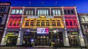 Schmidts Theater bei Nacht in hamburg St. Pauli
