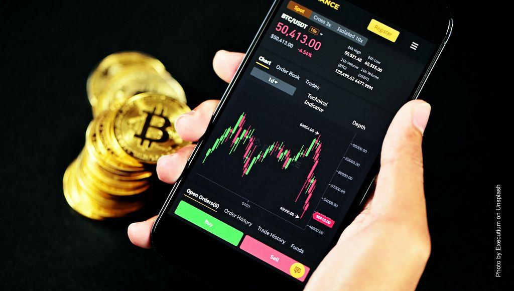Mit dem Smartphone Bitcoin handeln