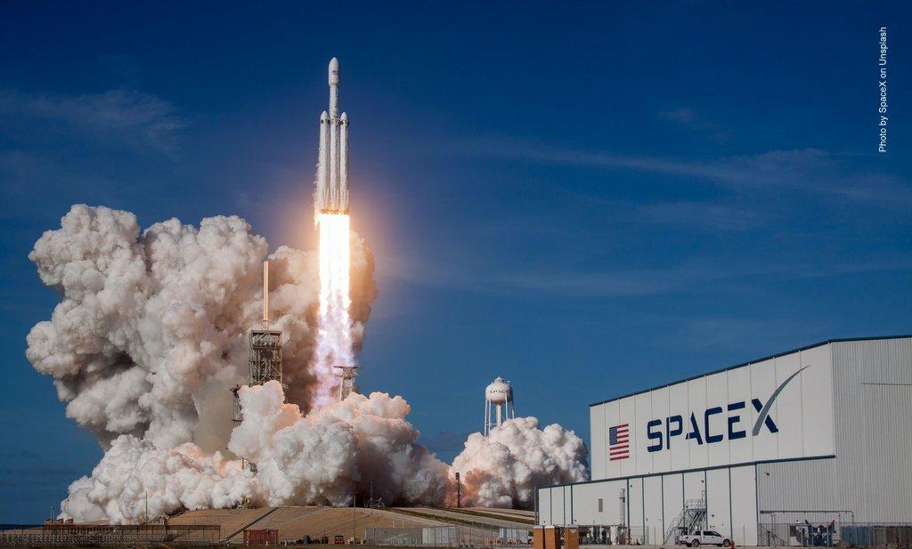 SpaceX Raketenstart