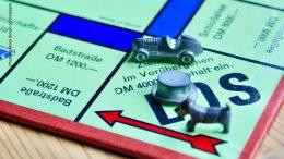 Monopoly Spiel Startfeld