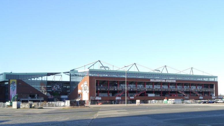 Fußballstadion des FC St. Pauli, das Millerntor