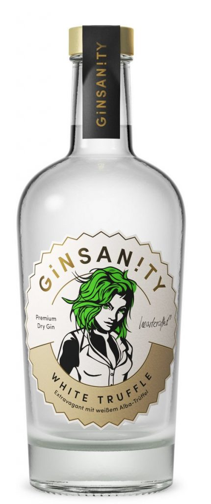 Flasche 500ml Ginsanity White Trufle