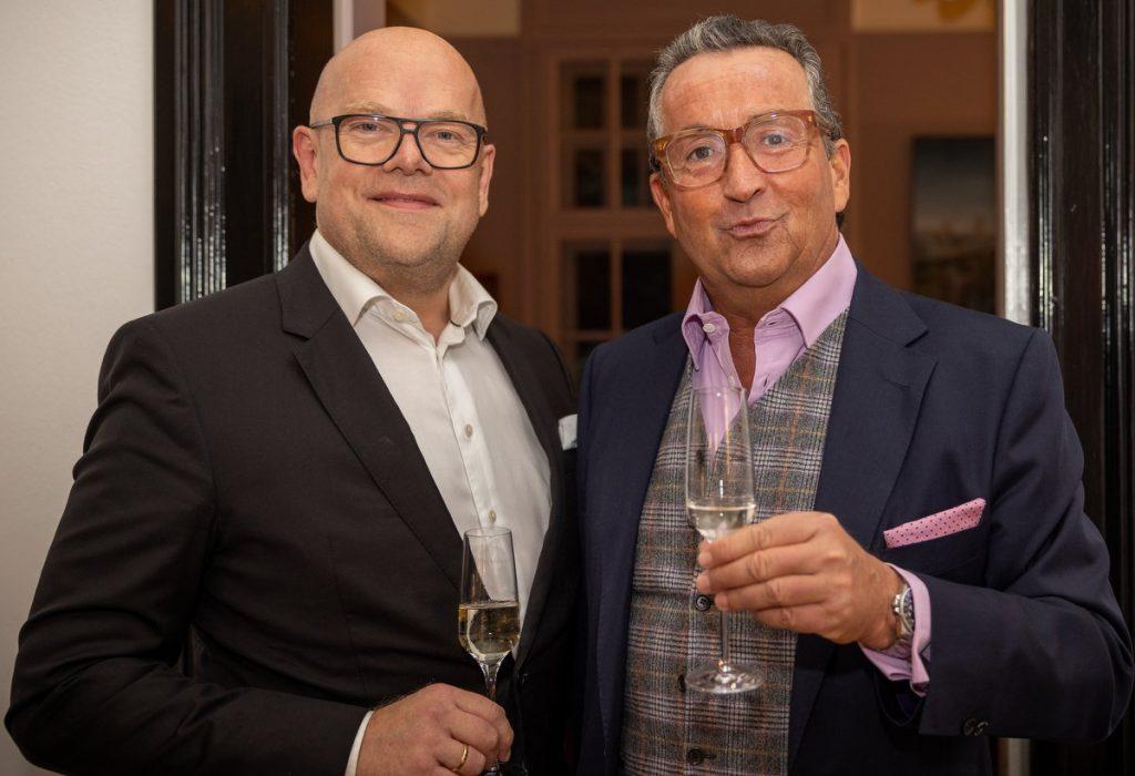 Partyaufnahme: Heiko Harms und Jochen Fischer