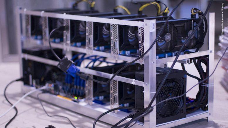 Anlage zum Bitcoin Mining