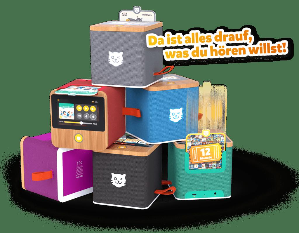 sechs Tigerboxen gespaltet