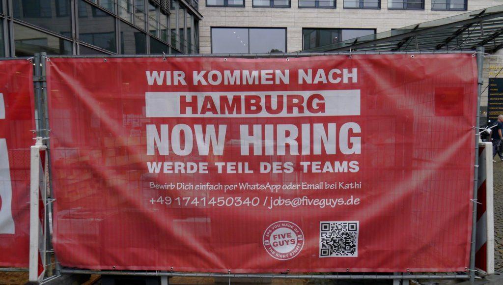 Plakat Mitarbeitersuche