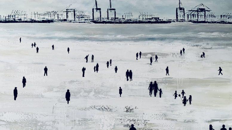 Bild Strandspaziergang an der Elbe