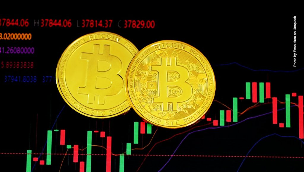 Symbolbild Bitcoin Kursentwicklung