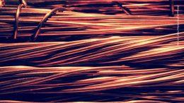 Kupferhalbzeug als Kabel