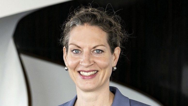 Die Managerin Carolin Beuster