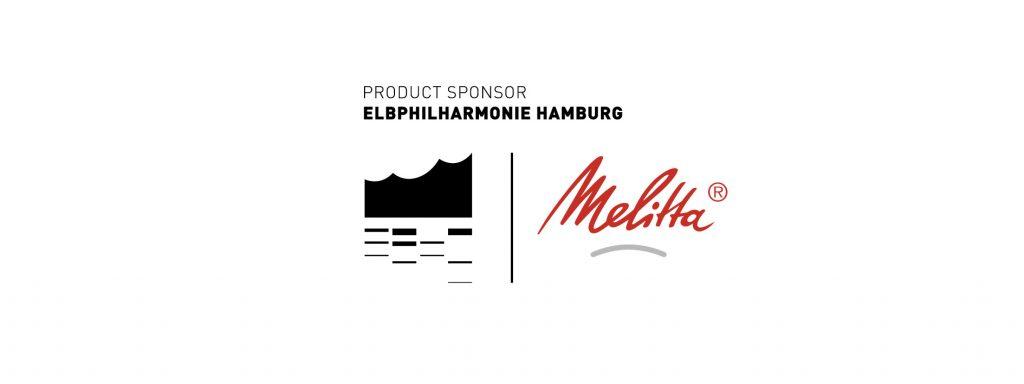 Kombi Logo Elbhilharmonie und Melitta