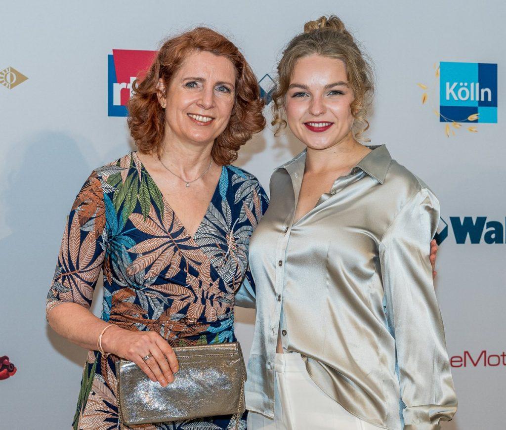 Monica Lierhaus mit Nichte Greta