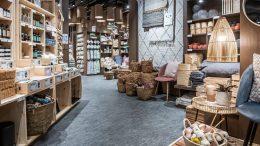 Blick in einen Søstrene Grene Flagship Store